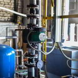 Контур подающей линии системы отопления
